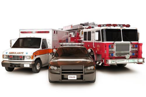First responder vehicles FMT